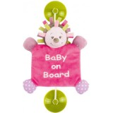 Semn de avertizare Nattou Baby on Board Manon