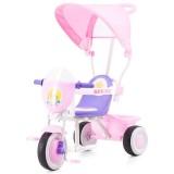 Tricicleta cu copertina Chipolino Spring pink