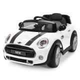 Resigilat: Masinuta electrica Chipolino Mini Cooper Hatch white