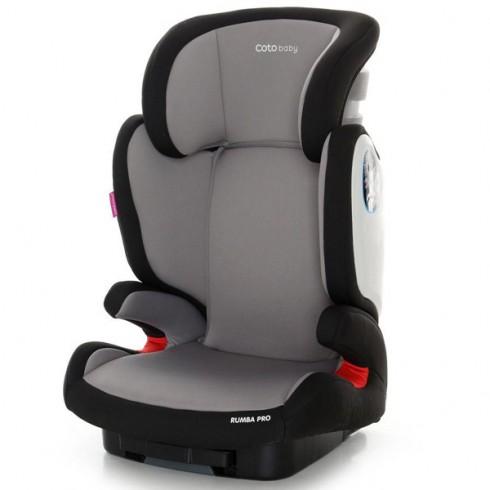 Scaun auto Coto Baby Rumba Pro cu Isofix gri