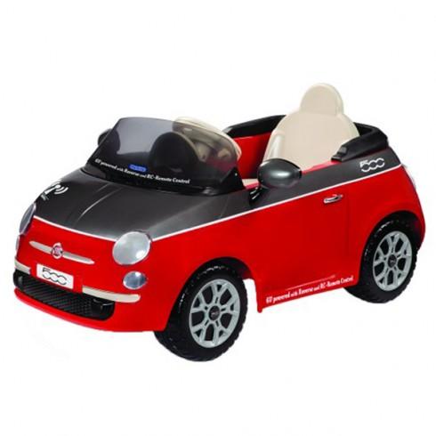Masinuta Peg Perego Fiat 500 red cu telecomanda
