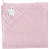 Prosop cu gluga Ceba Baby steluta roz
