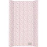 Saltea de infasat cu intaritura Ceba Baby Pastel Collection roz