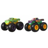 Set Hot Wheels by Mattel Monster Trucks Demolition Doubles A51 Patrol vs Test Subject {WWWWWproduct_manufacturerWWWWW}ZZZZZ]
