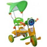 Tricicleta cu copertina Arti 260c verde