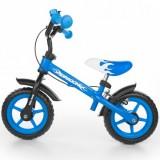Bicicleta fara pedale Milly Mally Dragon Z blue
