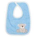 Set Baveta Fillikid Lilly bear 2 buc blue