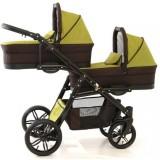 Carucior Pj Baby Pj Stroller Lux 3 in 1 khaki