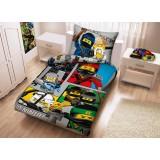 Lenjerie de pat LEGO Ninjago Movie (LEG-611) {WWWWWproduct_manufacturerWWWWW}ZZZZZ]