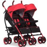 Carucior Easy Go Duo Comfort scarlet