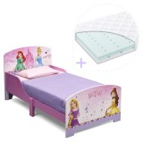 Pachet Patut Delta Children Disney Princess Friendship si Saltea Dreamily