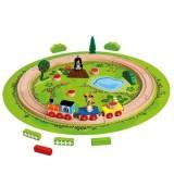 Trenulet cu sina circulara Bino Little Mole