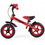 Bicicleta fara pedale Milly Mally Dragon Z red