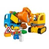 Camion si excavator pe senile LEGO DUPLO (10812) {WWWWWproduct_manufacturerWWWWW}ZZZZZ]