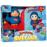 Set Papusa si rucsac Molto Gusy Luz Superman