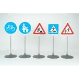 Set ce contine 5 semne diferite de circulatie {WWWWWproduct_manufacturerWWWWW}ZZZZZ]