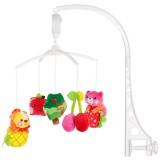 Carusel muzical pentru patut Chipolino Fruity-Juicy