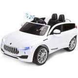 Masinuta electrica Toyz Commander 12V white