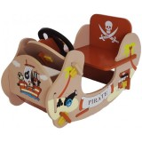 Balansoar Style Pirate Boat brown