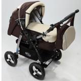 Carucior Baby Merc Junior 2 in 1 brown beige