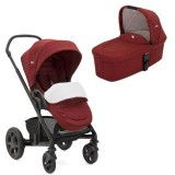 Carucior Joie Chrome Deluxe Limited Edition 2 in 1 cranberry