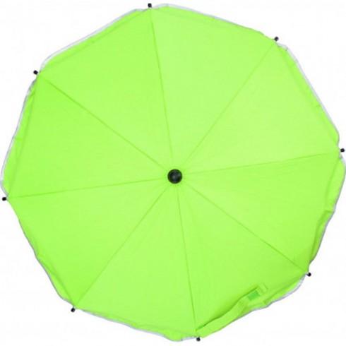 Umbreluta parasolara pentru caruciore Fillikid 75 cm verde