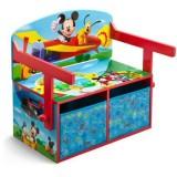 Bancuta Delta Children Disney Mickey Mouse 2 in 1 pentru jucarii