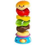 Jucarie Bright Starts Stack n Spin Burger