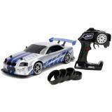 Masina Jada Toys Fast and Furious Nissan Skyline GTR Drift cu anvelope si telecomanda {WWWWWproduct_manufacturerWWWWW}ZZZZZ]