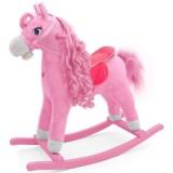 Calut balansoar Milly Mally Princess cu sunete si miscare pink