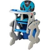 Scaun de masa Caretero Primus blue
