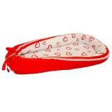 Suport de dormit MyKids Hearts Red White
