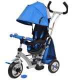 Tricicleta cu copertina Baby Mix Sunrise Turbo Trike blue