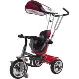 Tricicleta cu copertina Sun Baby Super Trike rosu