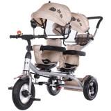 Tricicleta gemeni Chipolino 2Play mocca {WWWWWproduct_manufacturerWWWWW}ZZZZZ]