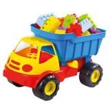 Camion cu cuburi Mochtoys Dumper