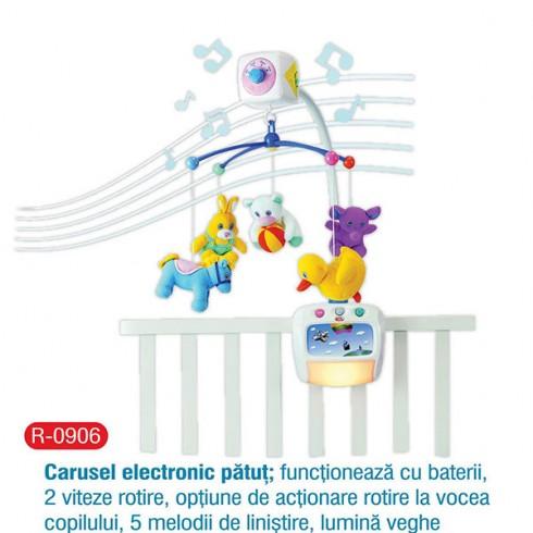 Carusel electronic Primii Pasi pentru patut