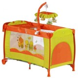 Patut pliant BabyGo Sleeper Deluxe orange
