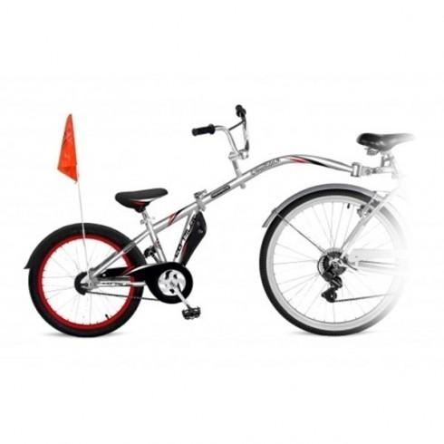 Bicicleta WeeRide Co-Pilot gri