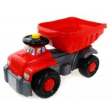 Camion basculant Super Plastic Toys Carrier red