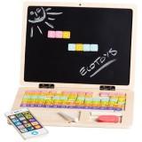 Jucarie din lemn Ecotoys G068 laptop educational