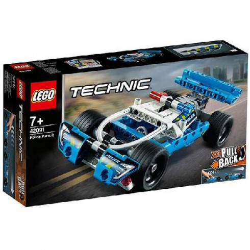 LEGO Technic Urmarirea Politiei 42091