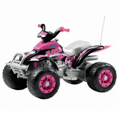 ATV Peg Perego Corral T-Rex pink