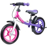 Bicicleta fara pedale Lionelo Dan Plus pink chameleon