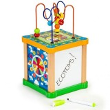 Cub educational Ecotoys HM015473 cu tabla