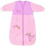 Sac de dormit Slumbersac Pink Fairy 0-6 luni 2.5 Tog maneca lunga