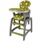Scaun de masa Kidscare multifuncional verde