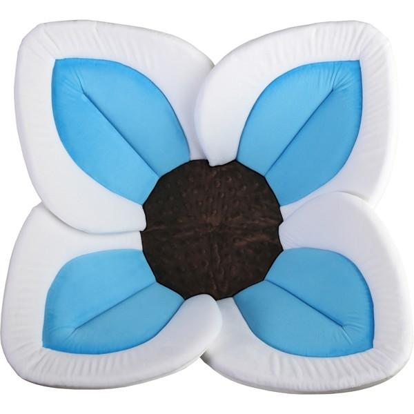 Cadita de plus Blooming Bath Lotus alb albastru maro