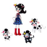 Set Enchantimals by Mattel Cambrie Cow With Ricotta And Family Papusa cu 3 figurine {WWWWWproduct_manufacturerWWWWW}ZZZZZ]