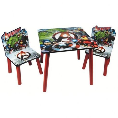 Set masuta si scaune Global Avengers